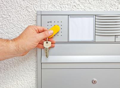 Elektronischer Hausschlüssel